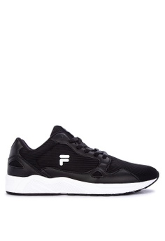 62f78e025e75 Fila black Rodge Running Shoes 58A45SH8DB536AGS 1