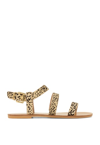 ROC Boots Australia multi Casbah Cheetah Sandal RO289SH49BPUSG_1