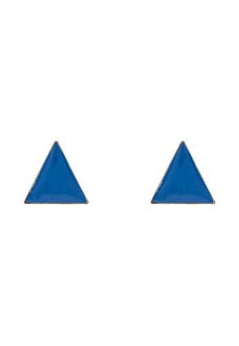 基本款三角搪瓷耳釘, esprit outlet 旺角飾品配件, 耳釘