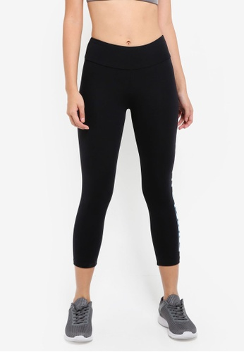 Running Bare black 7/8 Tights With Waistband Pocket A89D4AA4226583GS_1