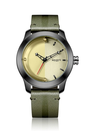 Assassin's Time green Assassin's Time LUNAR Green Leather 63542AC9087828GS_1
