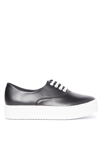 Primadonna black Lace-up Sneakers PR107SH44PDRPH_1