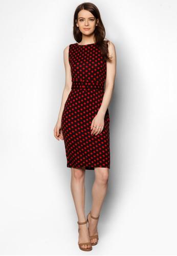 點點印花腰帶esprit 衣服洋裝, 服飾, 服飾