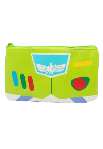 Toy Story green Toy Story Buzz Canvas Pouch 0685AKCC0CFAD4GS_1