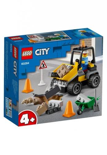LEGO multi LEGO City Great Vehicles 60284 Roadwork Truck (58 Pieces) BABFCTH08C8529GS_1