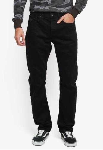 Superdry 黑色 休閒直筒牛仔褲 SU137AA0T22EMY_1