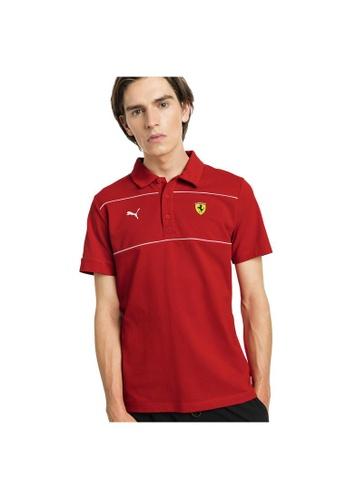 ef67881f1b Scuderia Ferrari Men's Polo