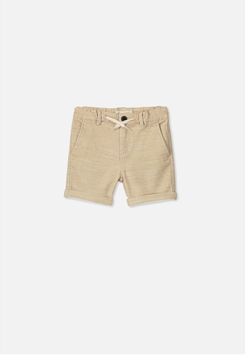 Cotton On Kids beige Flight Short 3B2A1KA8212D16GS_1