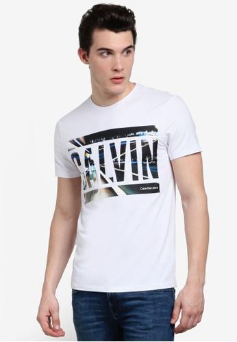 Calvin Klein white Tonus Slim Fit Crew Neck Tee - Calvin Klein Jeans  8EF4FAA6FFF4CAGS 1 c459d0ab6