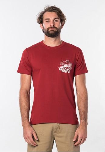 Rip Curl red Tuc Tuc Short Sleeve Tee 91528AAA33AE8CGS_1