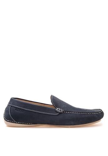 ECCO blue Elmo Loafers EC876SH74VIJPH_1