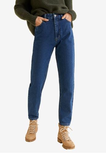 225b829aa2 Mango blue Mom Relaxed Jeans 61F15AACD7333FGS 1