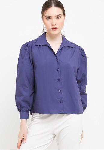 Benang Jarum blue Chloe Shirt 5224AAAAAA1294GS_1