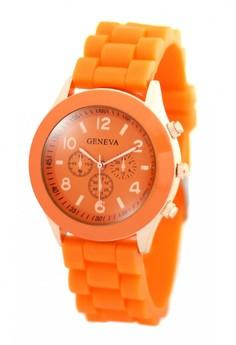 Geneva Nikka Women's Silicon Strap Watch