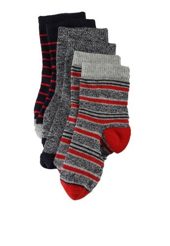 LC Waikiki red 3-Packs Baby Boy's Non-Slip Bottom Socks 696E8KA488A9A5GS_1