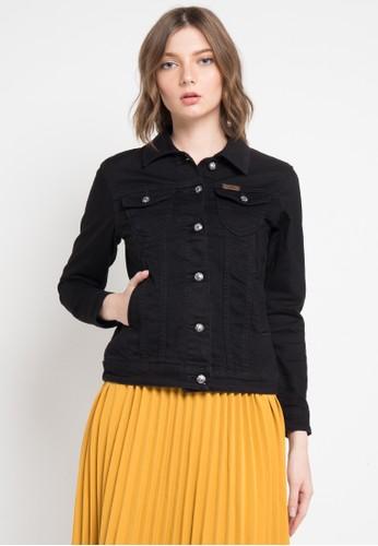 Lois Jeans black Denim Jacket 9173FAAED42FD8GS_1