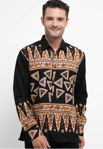 Batik First black and multi Shirt SLIM Long Sleeve 07580AADD29B62GS_1