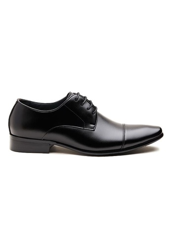 Kings Collection black Nicolo Derby Shoes F573FSHABAB49BGS_1