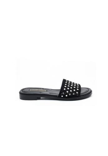 Elisa Litz black Linette Sandals (Black) 44067SHDDA0D7DGS_1