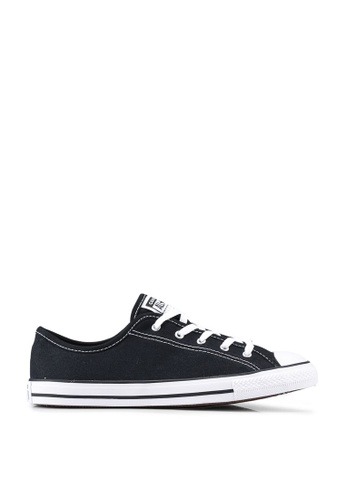 Converse black Chuck Taylor All Star Dainty GS Basic Canvas Ox Sneakers A9FF2SH410003BGS_1