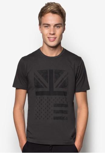 印花圓領T 恤, esprit 內衣服飾, T恤