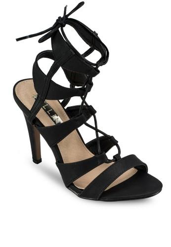 Oaszalora是哪裡的牌子is 繫帶高跟涼鞋, 女鞋, 鞋