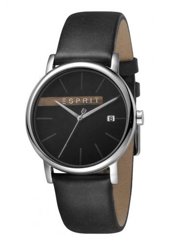 Esprit black Esprit Men Timber Grey Black ES1G047L0035 E721CACB233AAEGS_1