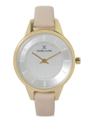 Daniel Klein beige Jam Tangan Wanita DK11807-3 Genuine Leather 09590AC951AA7BGS_1