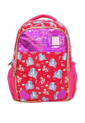 Swan pink Swan Kid Children Victor Series Primary (Pony Pink) School Bag Swan Bag(L) 90C07KC690ADCAGS_1