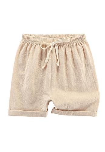 RAISING LITTLE beige Mard Shorts 3EF0FKAC19E741GS_1