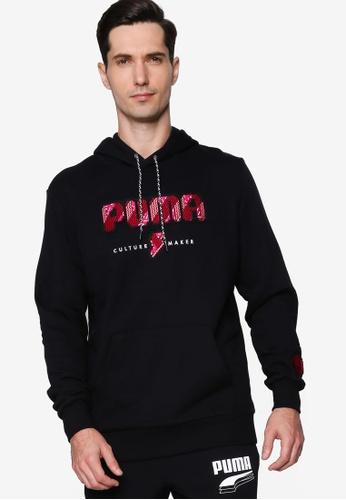 Puma 黑色 Digital Love Hoodie 2A0FEAAA91FB37GS_1