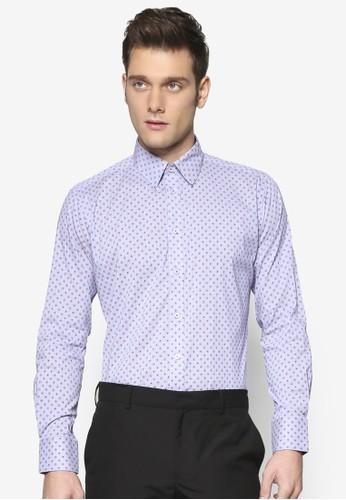 細緻斑esprit地址點長袖襯衫, 服飾, 服飾