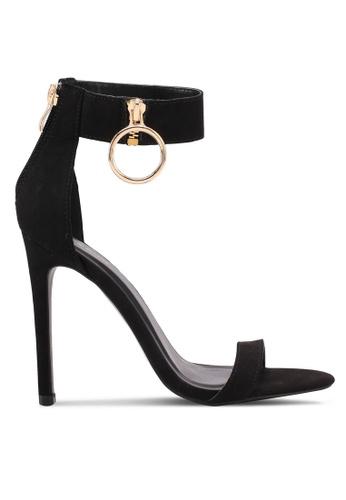 Something Borrowed black Ankle Detail Heels EB1E6SH8737D57GS_1