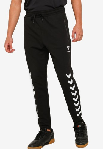 Hummel black Ray 2.0 Tapered Pants DF314AA52196A7GS_1