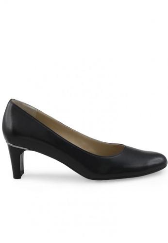 Shu Talk 黑色 圓頭漆皮高跟鞋 SH544SH099V2TW_1