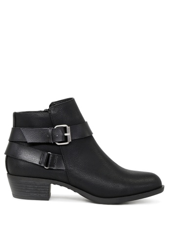 London Rag black Black Edge Ankle Boots SH1680 676EBSH23855BDGS_1