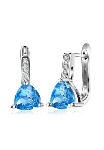 Kings Collection silver Korean Sapphire Earrings 6E5DFAC5C9E981GS_1