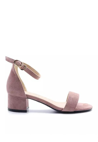 Twenty Eight Shoes Girly Ankle Strap Heeled Sandals 320-5 5369ESH96DFFDBGS_1