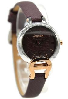 Aigner A24258A Pesaro Jam Tangan Wanita Leather Strap Coklat Ring Silver  AI473AC89CFYID 1 b66af379e2