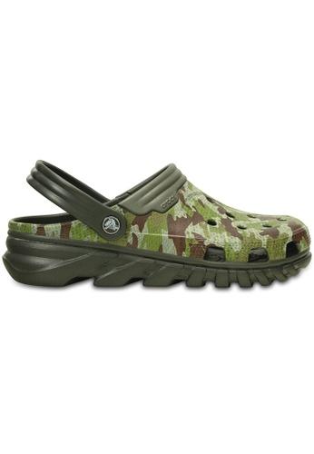 Crocs green Duet Max Camo Clog CR883SH86HUVMY_1