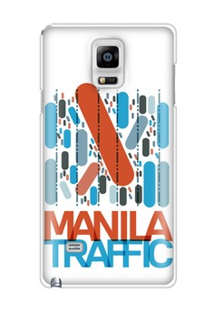 Manila Traffic Matte Hard Case for Samsung Galaxy Note 4
