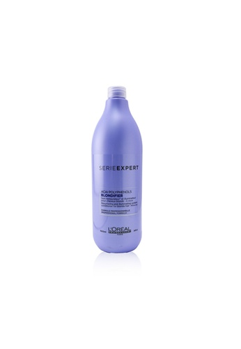 L'Oréal L'ORÉAL - Professionnel Serie Expert - Blondifier Acai Polyphenols Resurfacing and Illuminating System Conditioner (For Blonde Hair) 1000ml/34oz 60B96BE6051B11GS_1