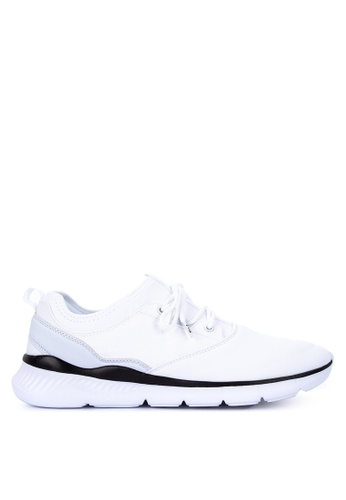 Fila white Shelter Running Shoes 49B9ASH594F468GS_1