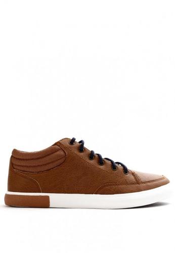 World Balance brown Lowell MS Sneaker 7885ASH6E61AFCGS_1