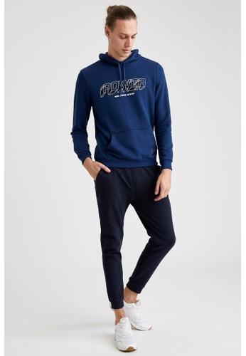 DeFacto navy Man Homewear Knitted Bottoms C9188AA55E3D5BGS_1