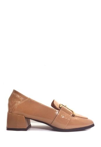 Twenty Eight Shoes beige Classic High Vamp Shoes VL23012 14F61SHCAB4222GS_1