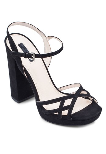 Lola 防水台粗跟涼鞋, 女鞋zalora 台灣門市, 鞋