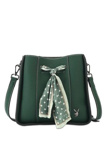 Bunny Crossbody Bag With Scarf