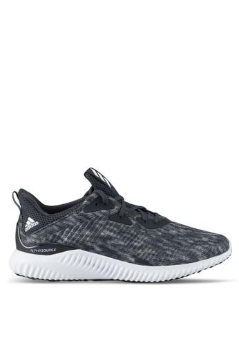 adidas black adidas performance alphabounce sd m AD372SH0SUL3MY_1