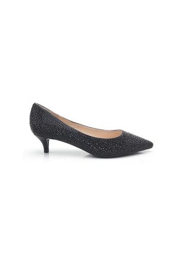 Elisa Litz black Leane Low Heels (Black) 3D503SH0A04250GS_1